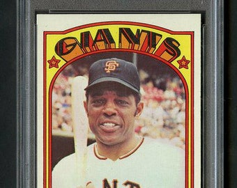 1973 Topps Willie Mays #49 HOF PSA 9 Mint