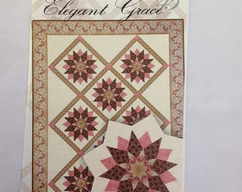 The Folded Series- Elegant Grace Quilt Pattern