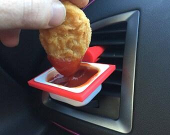 DipClip Mcdonalds Dip Clip Air Vent Sauce Holder McDonalds DipClip Holder Car Vent Sauce Holder  FREE SHIPPING!