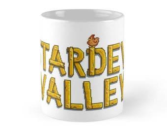 11/15 oz Stardew Valley Mug, Stardew Valley Mugs, Stardew Valley Mugs with Sayings, Stardew Valley Game Mugs, Stardew Valley Gifts