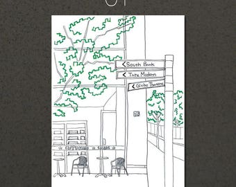 A4 Art Print / London Moment Series (1-6)