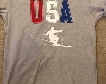 USA Ski Tee