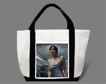 Dakota Johnson Jamie Dornan Canvas Tote Bag #0011