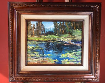 Mountain Pond by Mary Branson