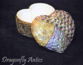 Bohemian Heart Trinket Box