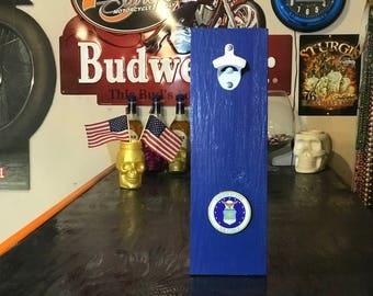 U.S. AIR FORCE - Wall Mount Bottle Cap Opener