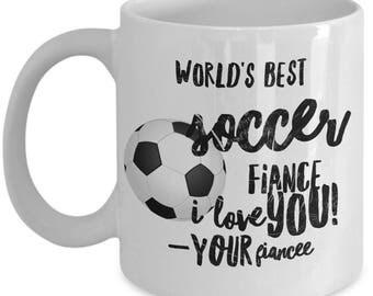 WORLD'S BEST Soccer Fiance! Coffee Mug