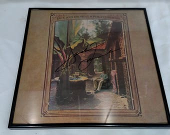 Vintage Jackson Browne Autographed For Everyman
