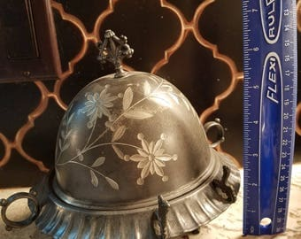 1890's  domed butter dish
