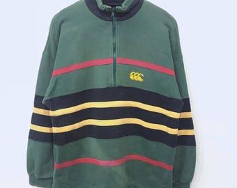 Rare! Vintage Canterbury Embroidery Sweatshirt