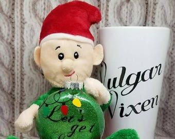 Let's get Lit-Christmas Ornament