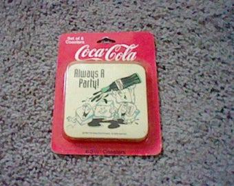 Vintage Coca-Cola Coasters