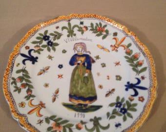 The French Revolution commemorative plate