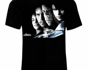 Inspired By Fast and Furious Brian O'Conner Dominic Toretto Letty Mia T-Shirt