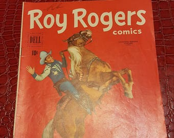 Roy Rogers Comics ((And Trigger, # ) #36 1951 /F