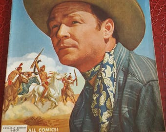 Roy Rogers Comics #38 strict 1951  Roy Rogers, comics book