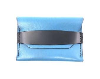 Handmade pouch wallet, front pocket wallet,  EDC wallet, Made in America, minimalist wallet, gifts for men, groomsmen gifts, mens wallet