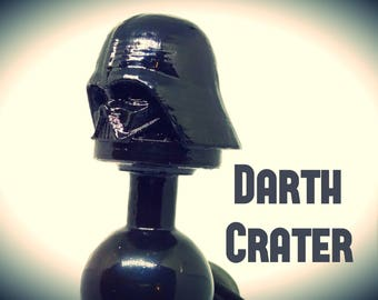 Darth Crater- Star Wars inspired butt plug / sex toy- I am not your Fathers Butt plug.