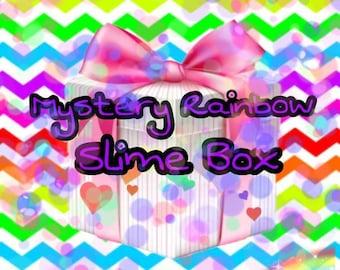 Mystery Rainbow Slime Box