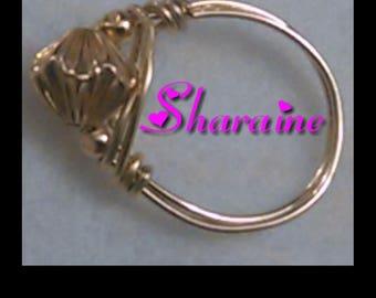 All Gold Sprinkle Ring