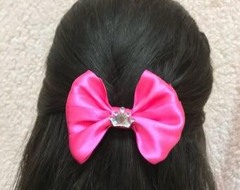 Royal Pink Bow