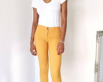 Cilo Pants Yellow