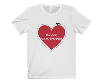 Love Coupons Jersey Short Sleeve Tee