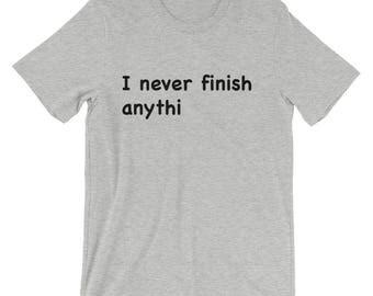 Funny Gift Idea Short-Sleeve Unisex T-Shirt