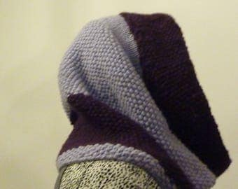 Two-tone purple and purple Snood
