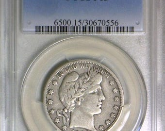 1904-S Barber Half Dollar PCGS F-15; Pleasing Example Of This Key Date!