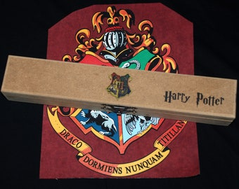 Personalized Wooden Wand Box with Harry Potter Wand