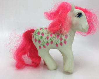 sugarberry (twice as fancy) My Little Pony 1987 G1