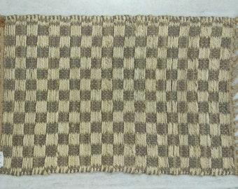 "Handmade Jute Rug, Hemp Rug, Natural Rug,  Area Rug, Scandi Rug, Floor Rugs, 1'4""X2 Runner, Eco Friendly Rug, Boho Rug, Moroccan Rug"