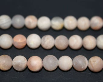 15 Inch Full strand,Natural Moonstone Matte round beads 8mm 10mm 12mm ,loose beads,semi-precious stone,