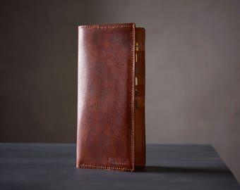 Coat Wallet, Long Wallet, Goat Wallet, Handmade Wallet