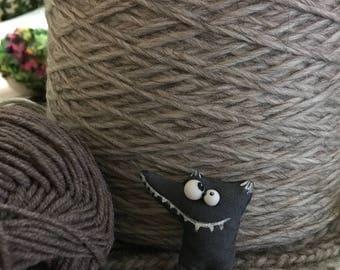 Yarn, wool, alpaca, Italy wool per 100 gr, fox toy