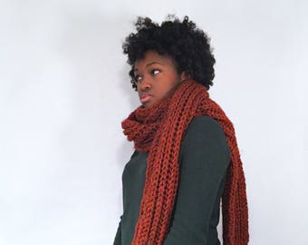 Knit Blanket Scarf, Extra Long Scarf, Wool Scarf, Winter Scarf, Gift for her, Oversized Scarf, Huge Scarf, Winter Accessories