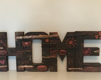 HOME -  home decor letters