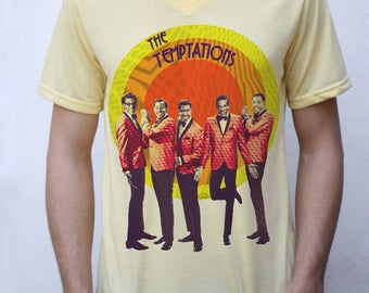 The Temptations T shirt Design