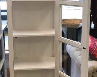 White display cabinet