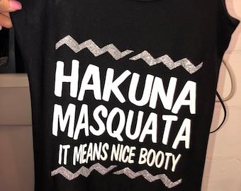 Gym shirt , hakuna masquata, fitness, workout gear