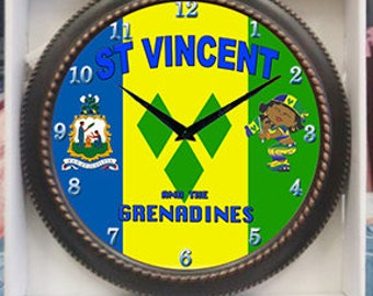 St Vincent Clock Decor wall Clock