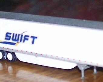 N scale custom 53ft  Swift trailer