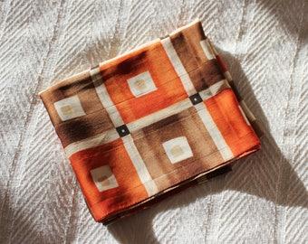 Vintage Silk Rectangular Scarf