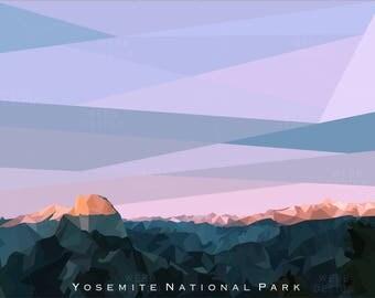 Glacier Point - Yosemite National Park Poster
