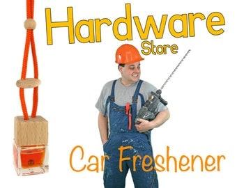 B&Q / DIY Store Scented Handmade Car Freshener