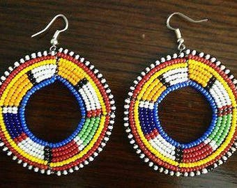 Maasai Duara Earrings