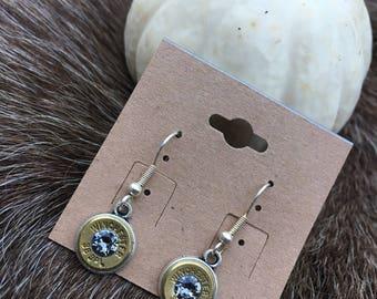 Dangle bullet earrings