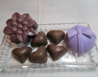 Wine and Chocolate Scented Soap Gift Set