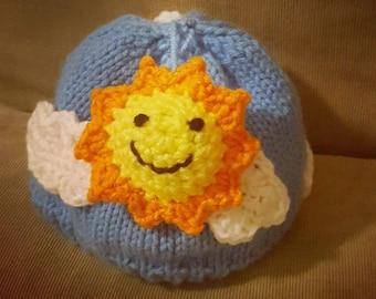 Sunny Skies Baby Hat